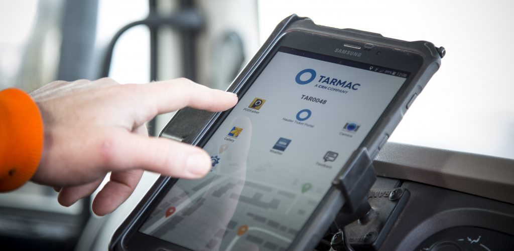 Tarmac's digital delivery tracking system boosts efficiency and customer service