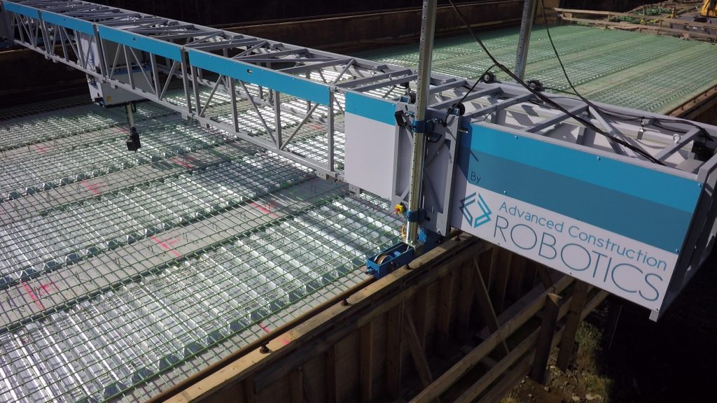 TyBot and Brayman Construction selected as national finalist for 2018 Innovation Award