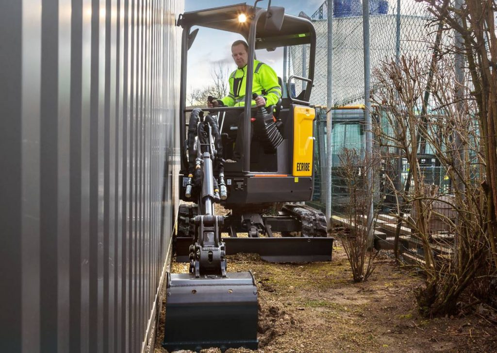 Volvo premiers ECR18E 1.8 tonne compact excavator at Intermat