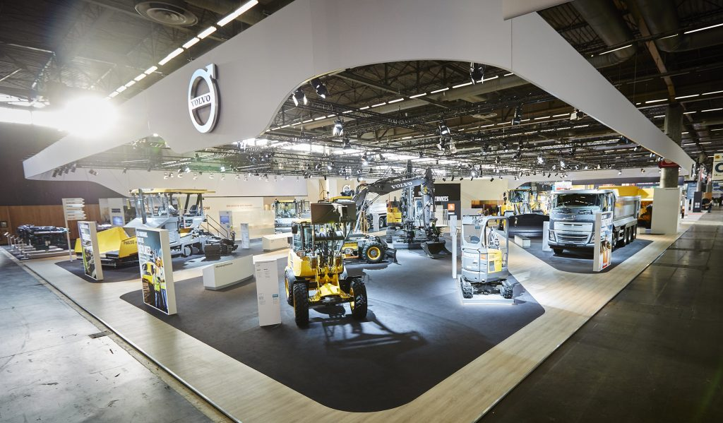 Volvo demonstrates their strengths and successes at Intermat Paris 2018