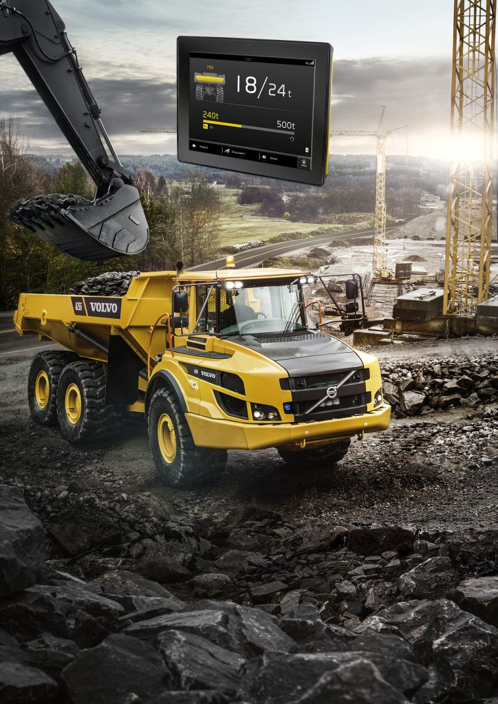 Haul Assist – On Board Weighing, powered by Volvo Co-Pilot