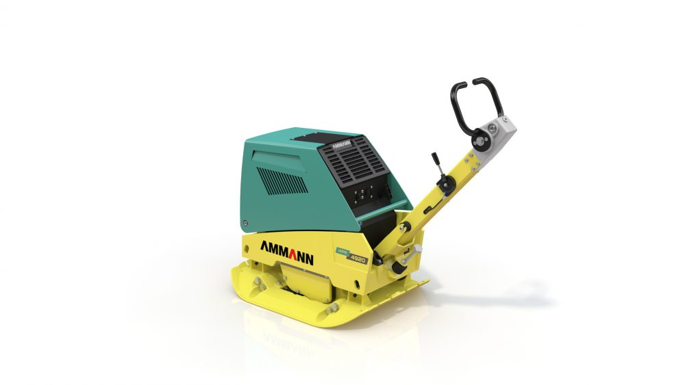 Ammann APR Plate Compactor reduce unwanted vibration