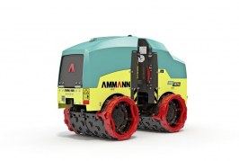 Ammann trench roller features ACEecon Intelligent Compaction System