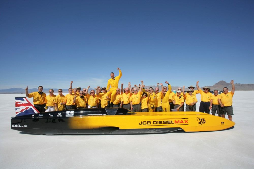 Built in Britain by JCB celebrates the best of British Engineering at the London Motor Show