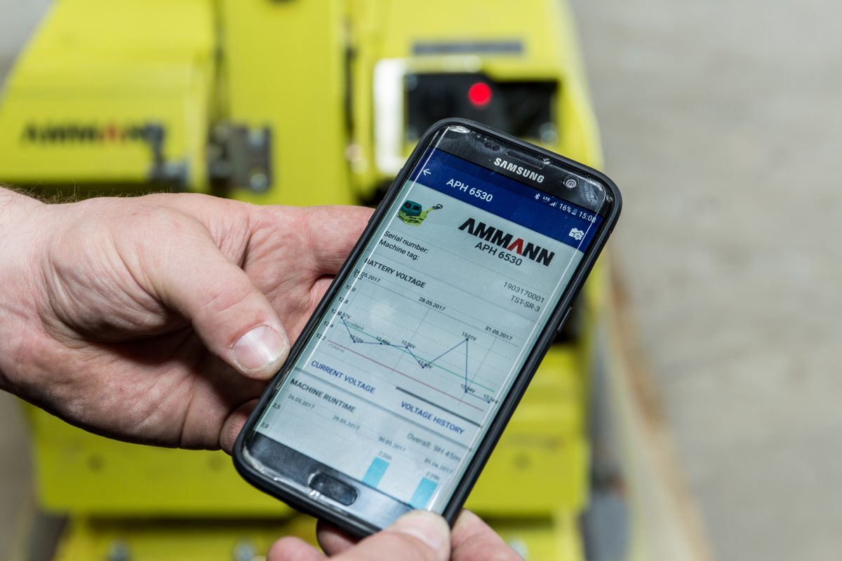 Ammann brings telematics to small rollers for accurate networked fleet monitoring