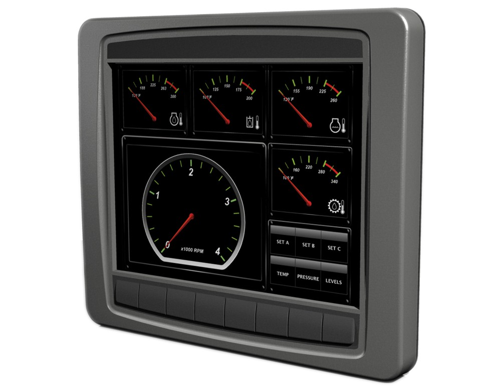 Grayhill announces 10.4 inch OEM touchscreen display for vehicles
