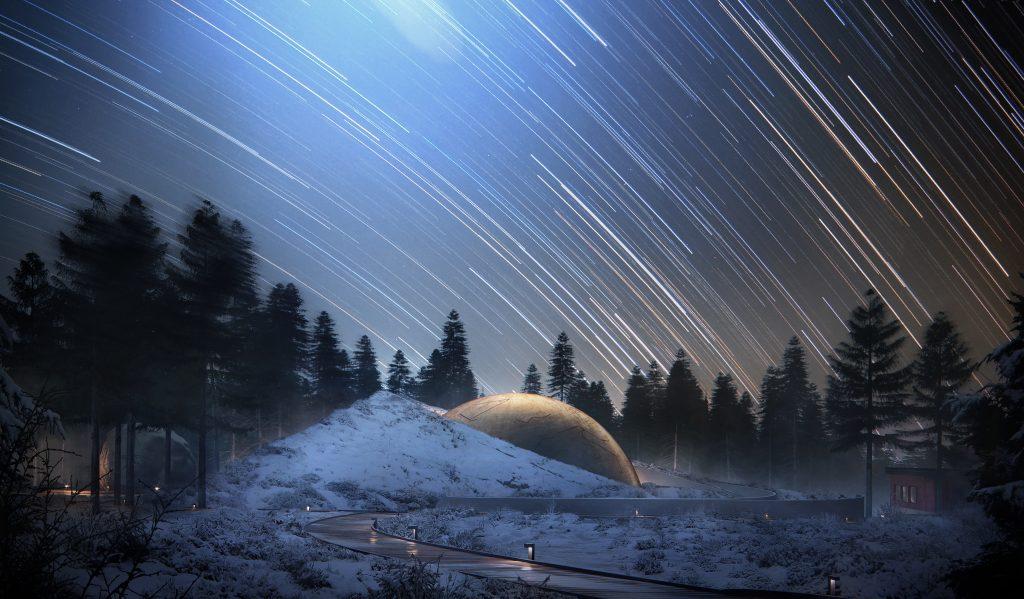 Snøhetta designs planetarium for Solobservatoriet, Norway's largest astronomical facility