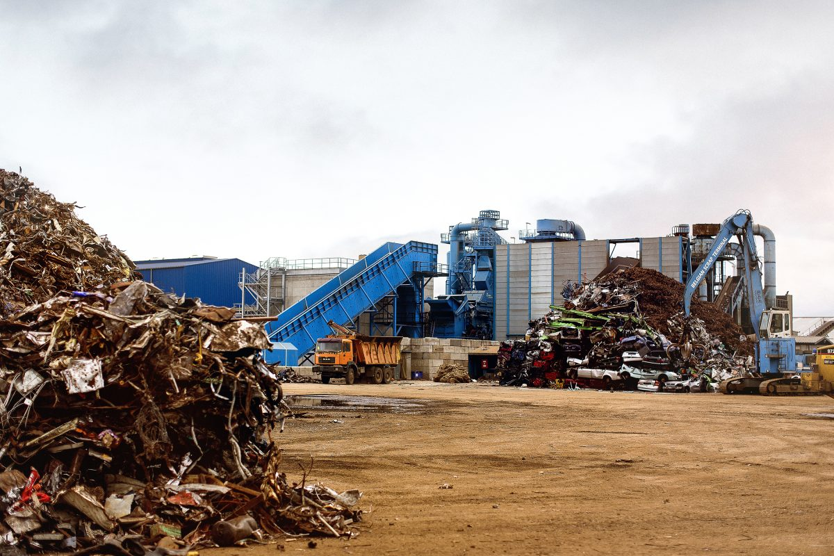 Lindemann shredders boosted with Metso Shredder Drive Assistant