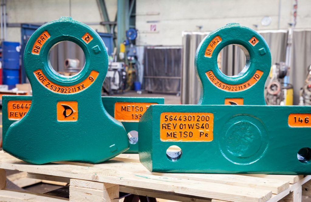 Alloy Hammers for Metso shredders deliver optimized cost per ton
