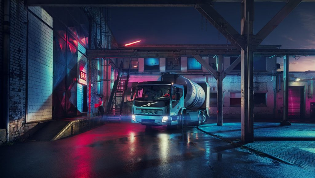 Volvo Trucks presents their second electric truck model in three weeks