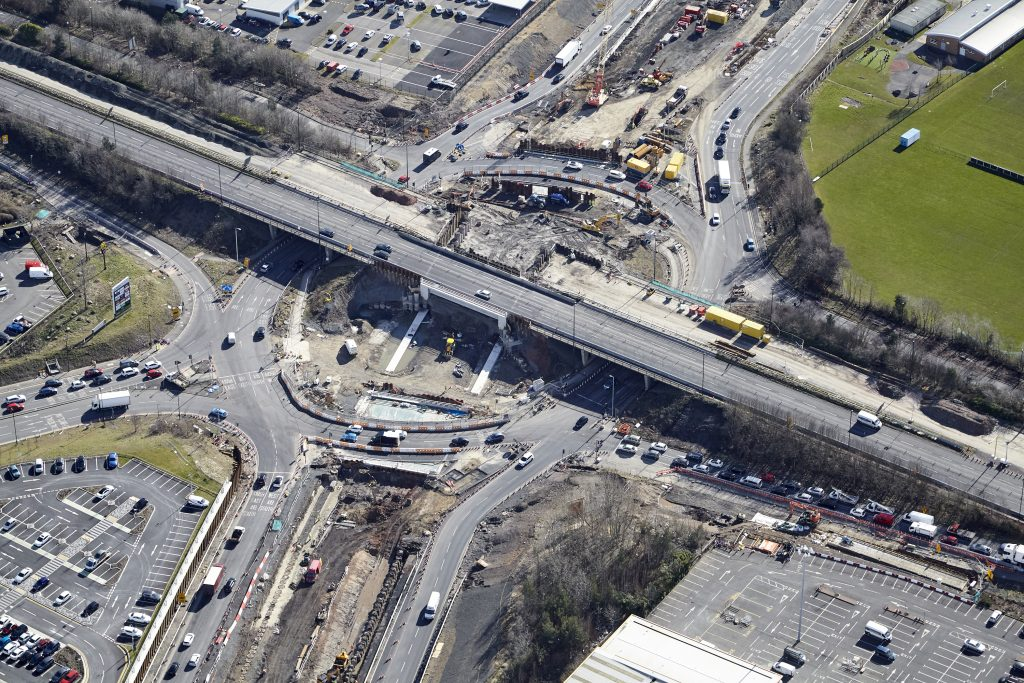 Triple decker junction enters final stages in Tyneside