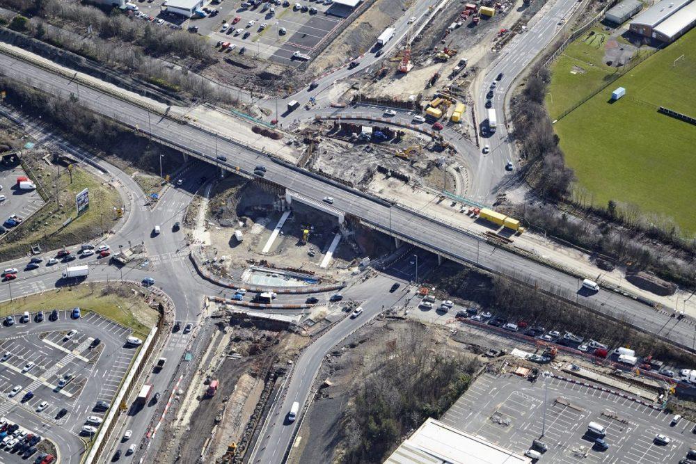 Triple decker junction enters final stages in Tyneside