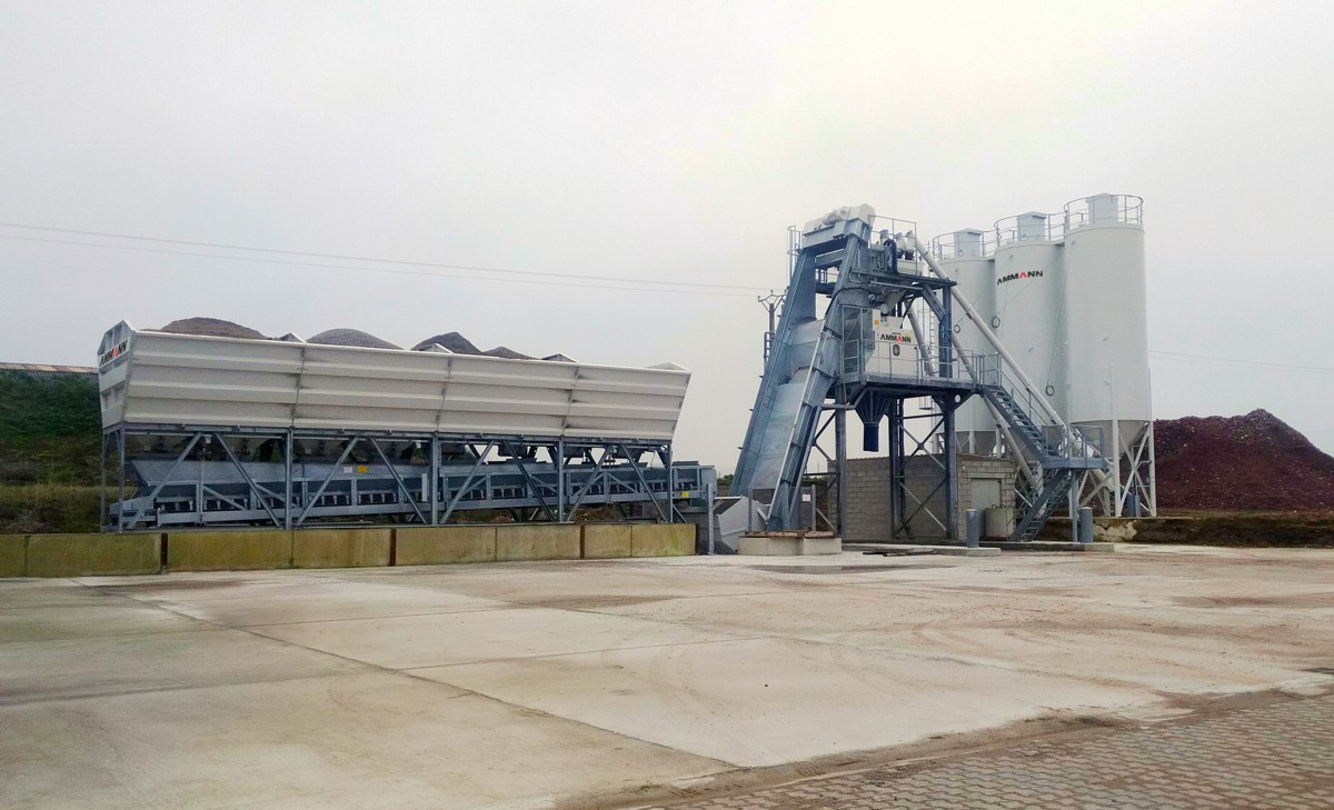 Ammann CBS 105 Elba concrete mixing plant heads to the Hauts-de-France region
