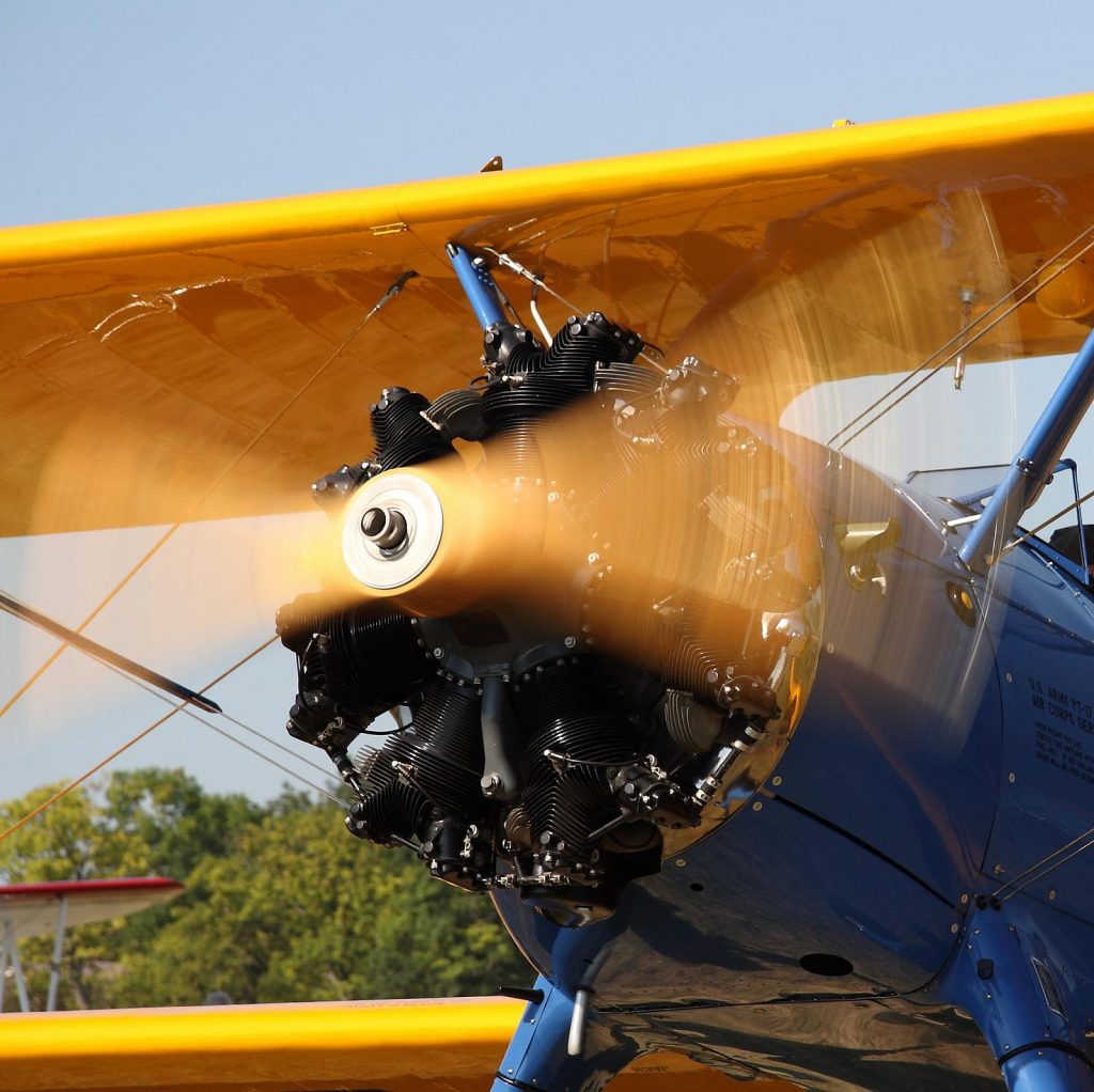 Boeing Stearman - Photo by D Miller