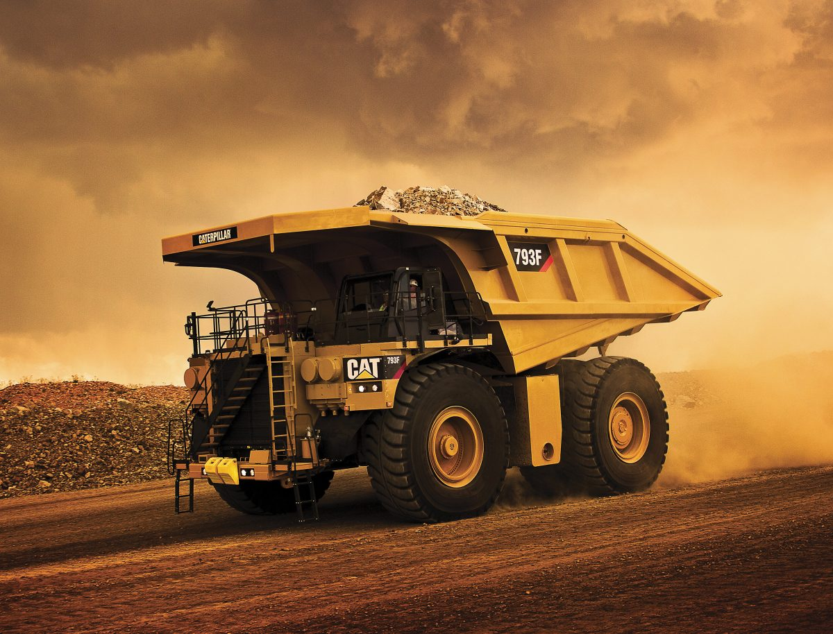 5,000th Caterpillar 793 Mining Truck crawls off the assembly line