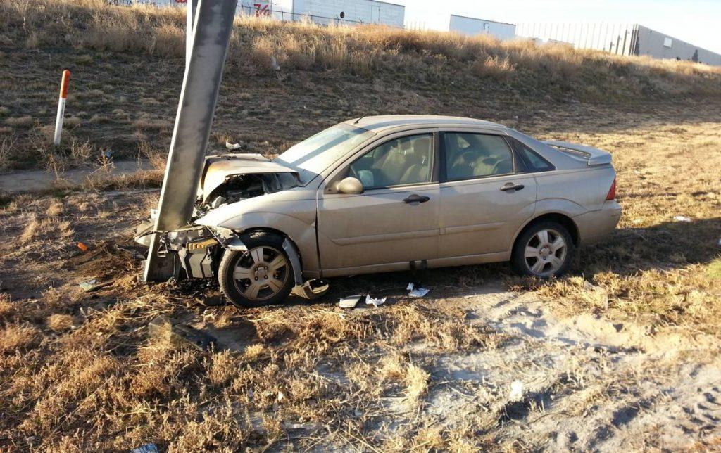 Car Crash - Photo by Robert Tadlock