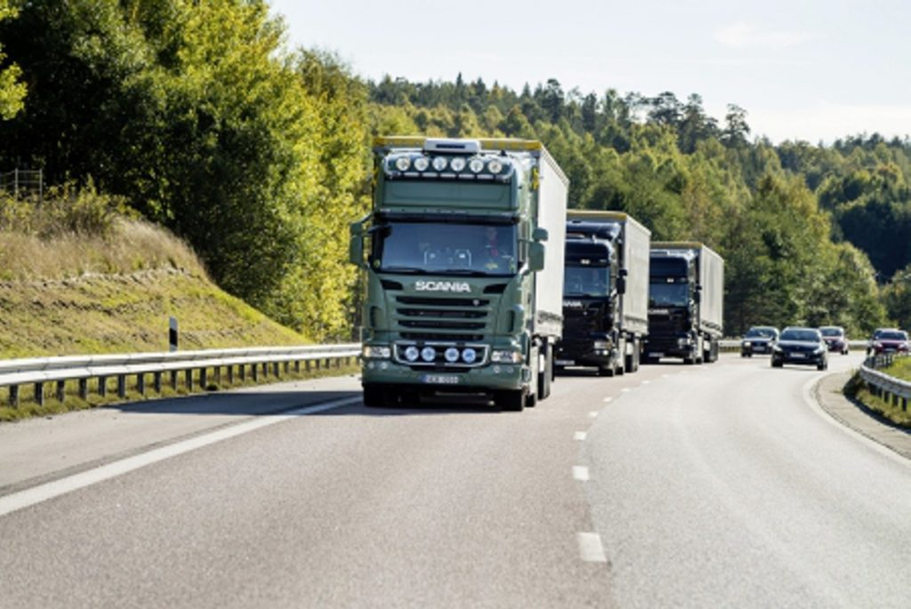 Green light for research project with HGVs using overhead power lines on German roads