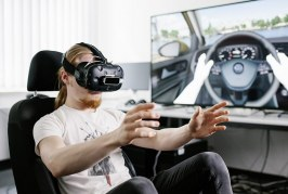 Virtual Reality Developers designing a new breed of cars at Volkswagen