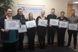 Eurovia hails their Dementia Friends in Dementia Action Week