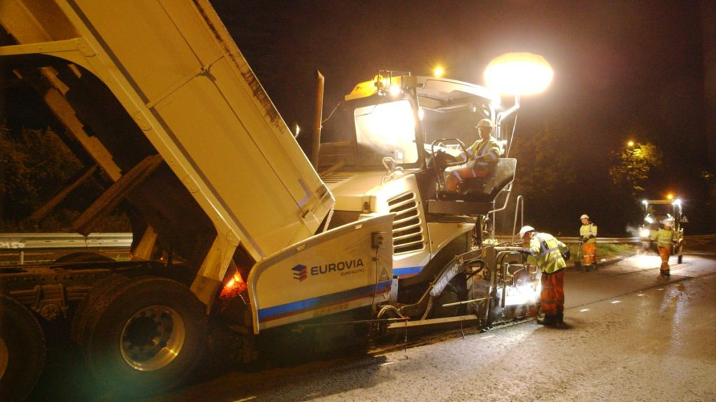 Eurovia Infrastructure wins major resurfacing contract in Kent