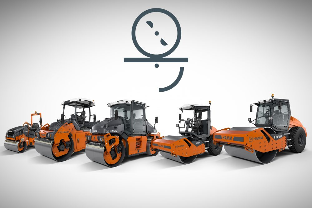HAMM offers over 35 different rollers with oscillation – including machines with Tier 3 and Tier 4 engines, machines with operating weights ranging from 2.5 to 15 t and machines for both asphalt construction and earthwork.
