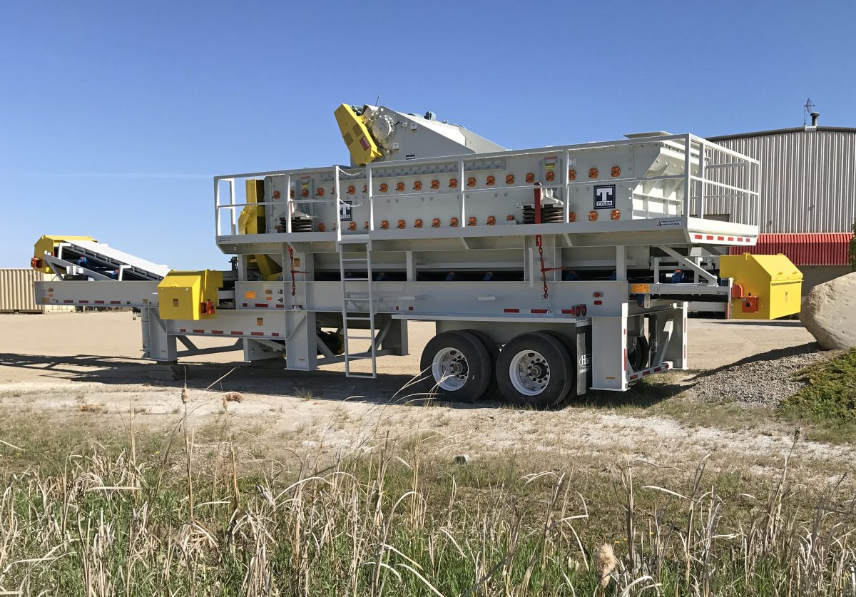 Haver and Boecker's vibrating screen delivers versatility in a compact design