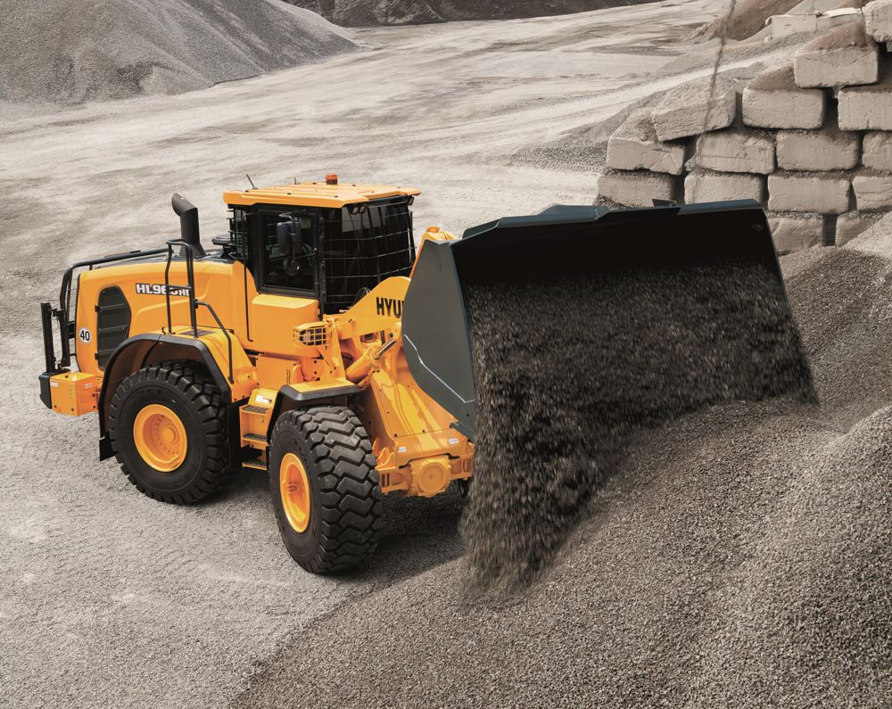 Hyundai Construction Equipment launch HL960 HD Heavy Duty Wheeled Loader