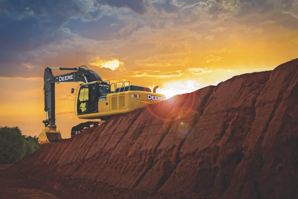 John Deere adds Grade Guidance to 210G LC Excavator and updates 130G - 470G LC models
