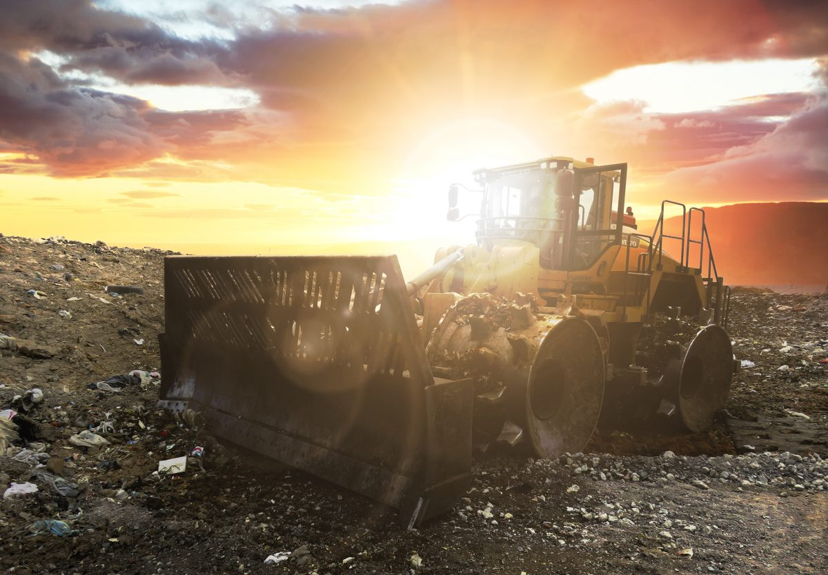 Volvo Construction Equipment unveils LC450H landfill compactor at WasteExpo