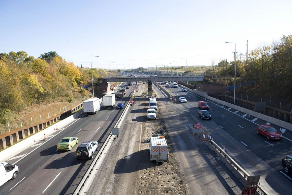 M25 Widening - Photo by Highways England