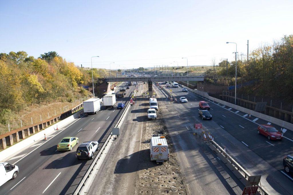 M25 Widening - Photo by Highways England
