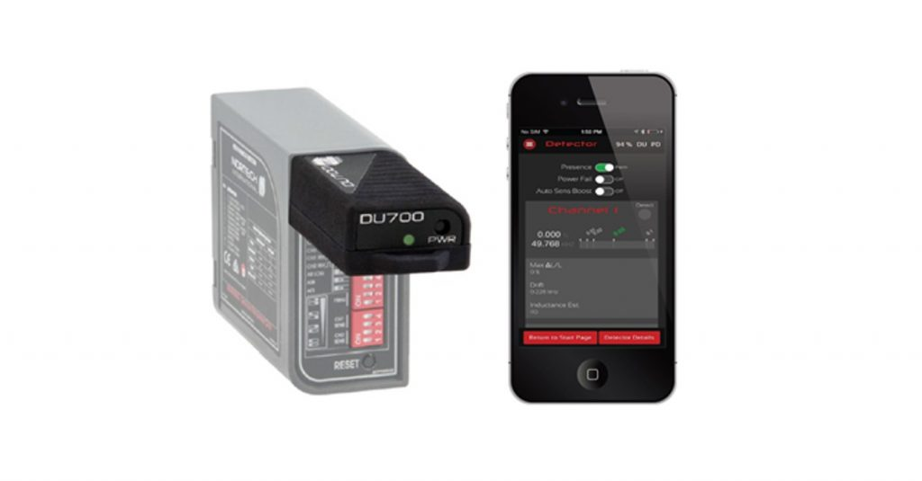 Enhanced vehicle detectors by Nortech now connect to your smartphone
