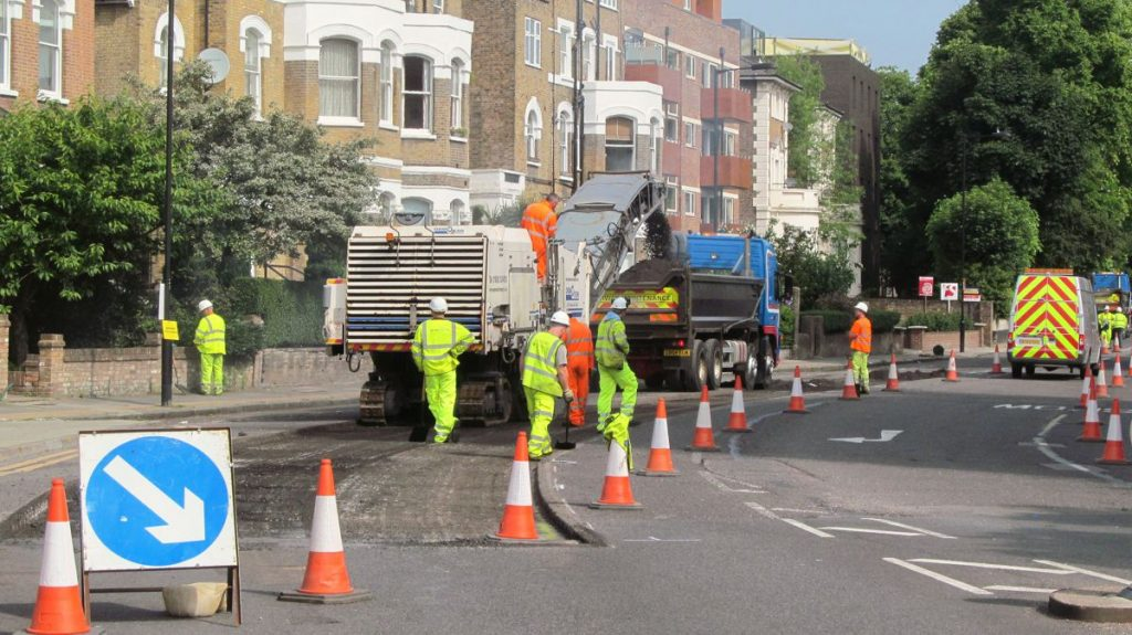 Road Works - Photo by David Holt