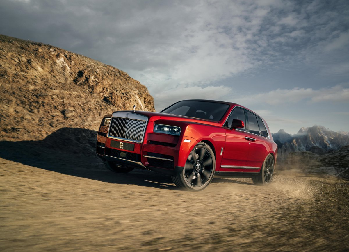 Rolls Royce launches the 4x4 Cullinan luxury SUV