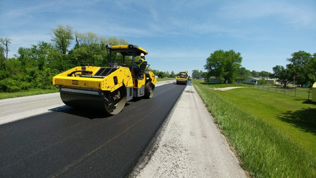 Intelligent Compaction and Infrared Scanning improving road construction in Missouri