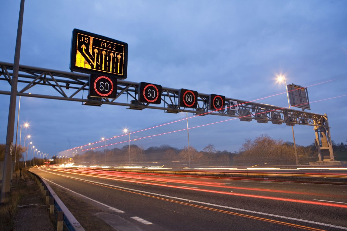 Smart Motorway - Photo by Highways England