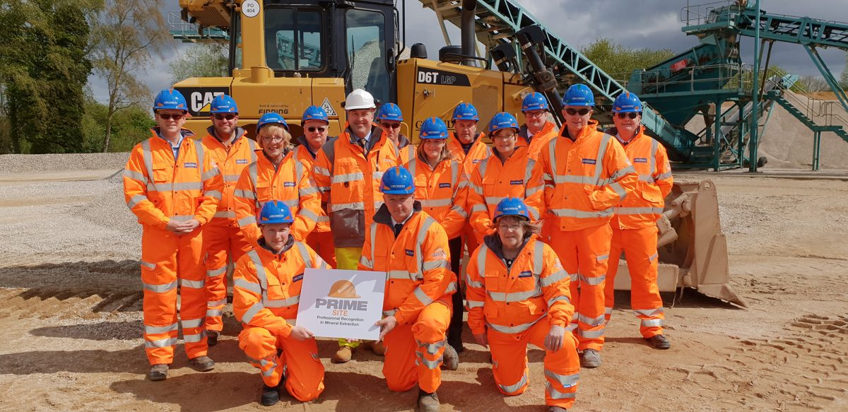 Grundon achieves IQ PRIME - Professional Recognition in Mineral Extraction status