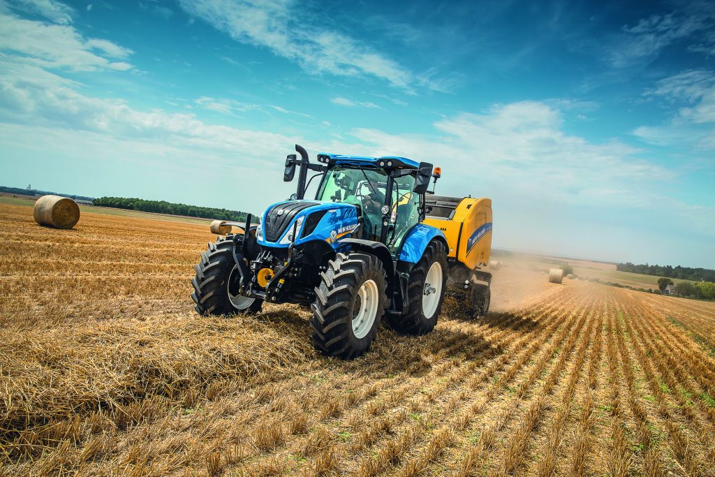 Visitors to the FTMTA Grass & Muck show in Ireland will be able to see demonstrations of a wide range of New Holland machinery including its latest tractors, foragers and balers as well as a selection of equipment from the agricultural construction range.