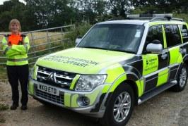 Highways England Traffic Officer looks at avoiding Bank Holiday breakdowns