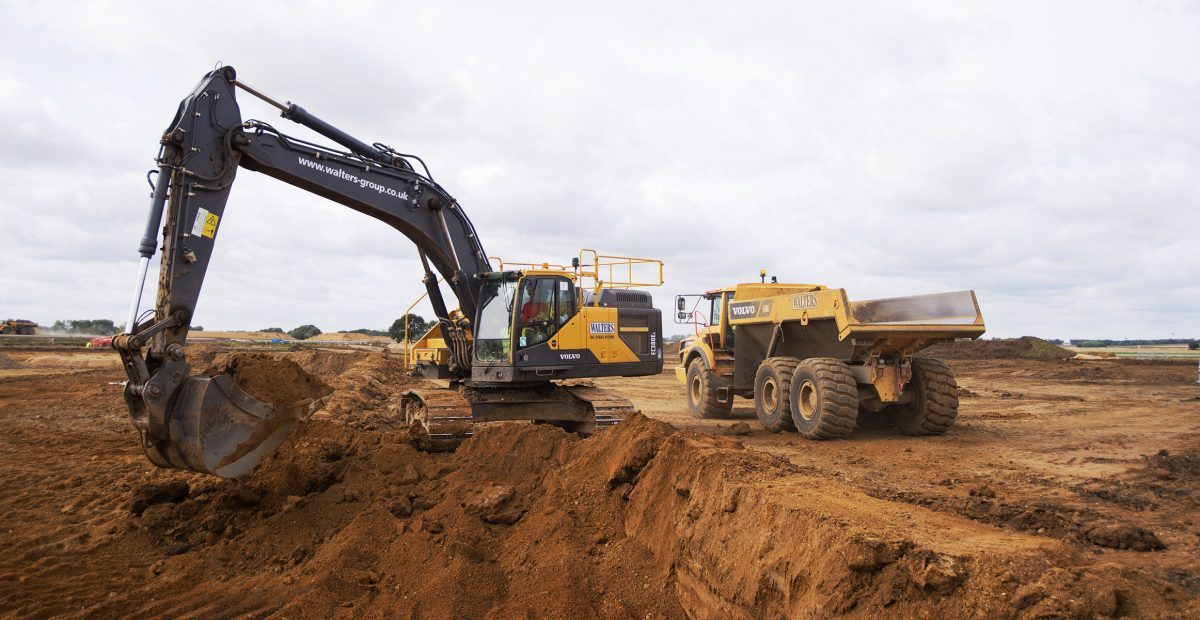 Walters Group diversify and expand with support from Volvo