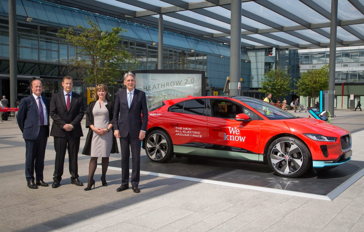Heathrow signs landmark deal to host the UK's largest Electric Vehicle Fleets