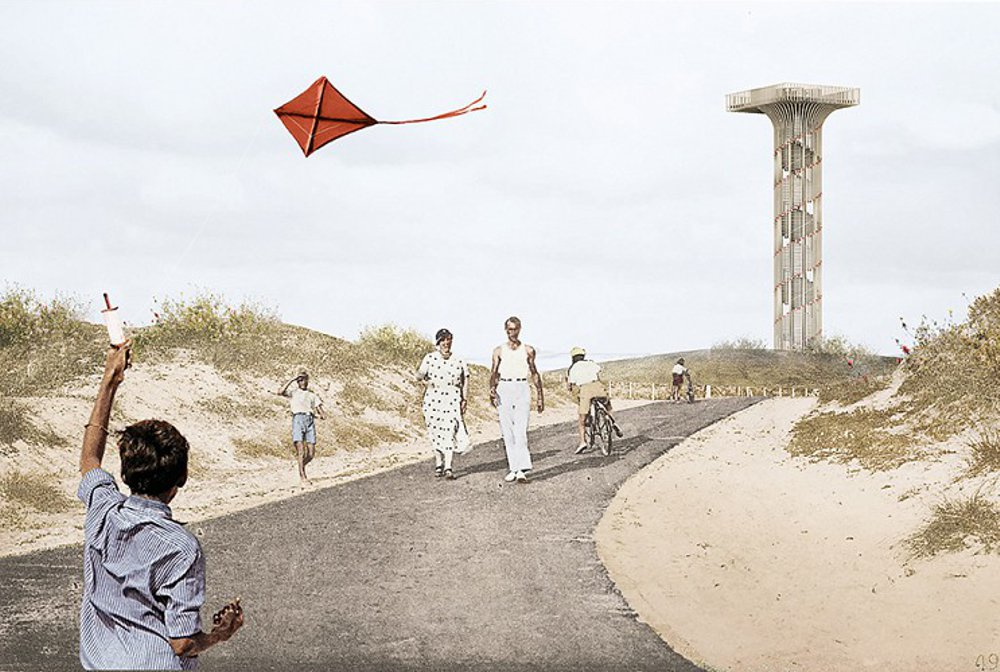NEXT architects wins competition with their Belgian wooden watchtower