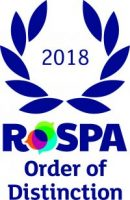 Eurovia UK wins RoSPA Order of Distinction and Gold Fleet Safety Awards