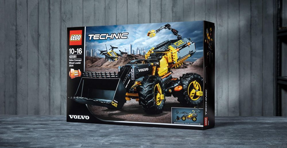 Volvo Construction Equipment and LEGO® Technic team up with children to create an autonomous concept wheel loader of the future.