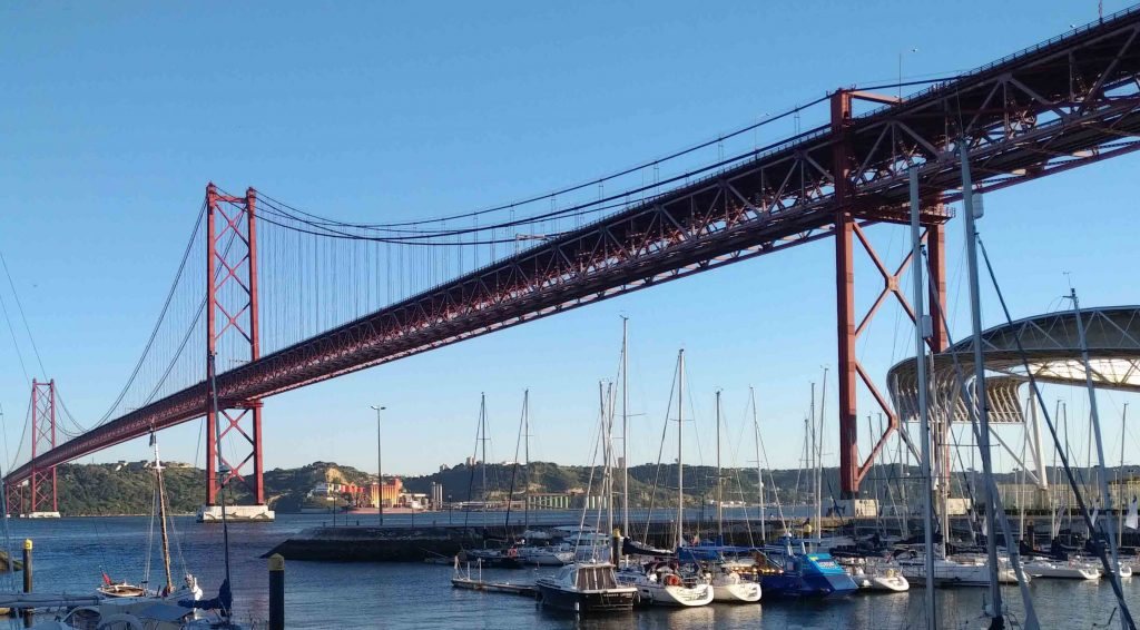Parsons wins supervision contract for the April 25th Suspension Bridge in Portugal