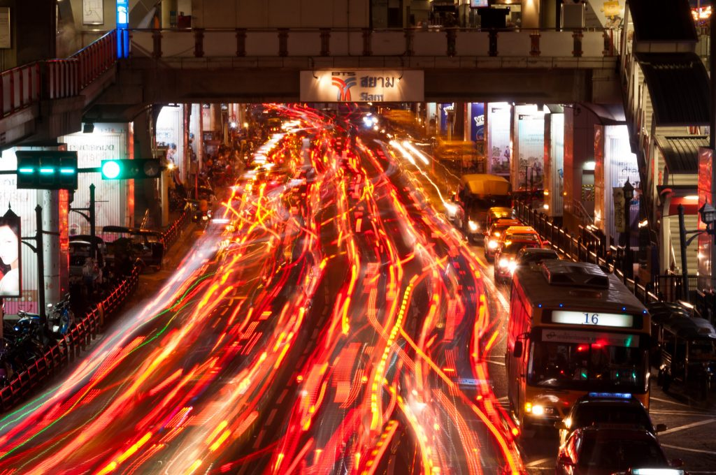 Bangkok Traffic - Photo by Mark Fischer