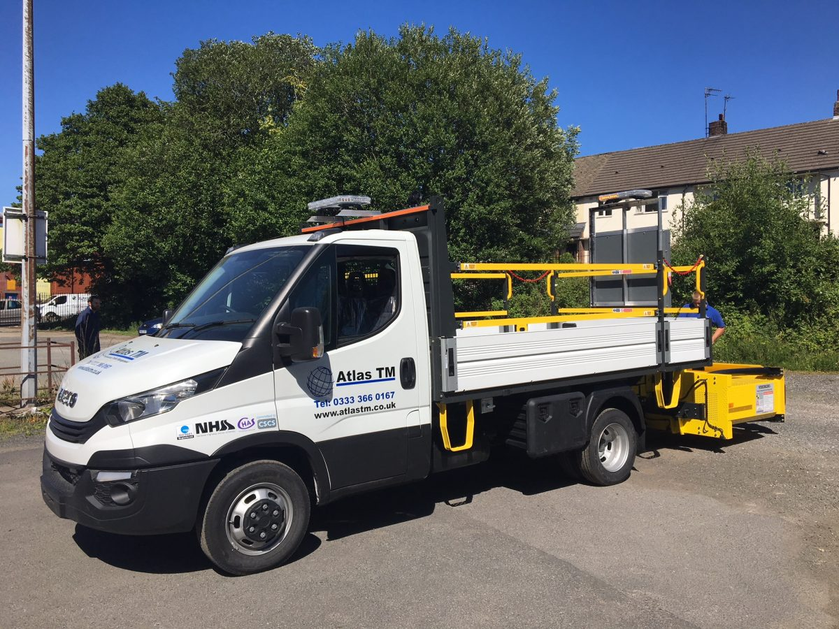 Blakedale Traffic Management Vehicles featured at Traffex Seeing is Believing