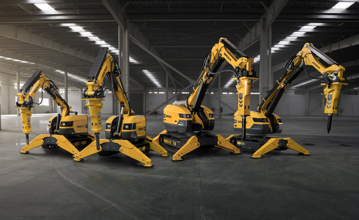 Brokk highlights SmartConcept technology for next generation Demolition Machines