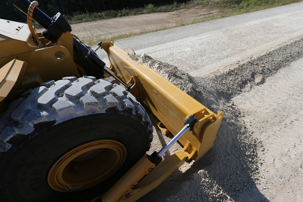 The new Cat® 814K Wheel Dozer delivers operating comfort, efficiency and serviceability advancements