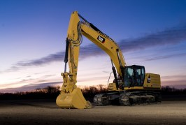 Next generation Cat Excavators deliver efficiency and lower operating costs in 36-ton size class